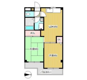 南加瀬5丁目 賃貸マンション3階建て 間取り